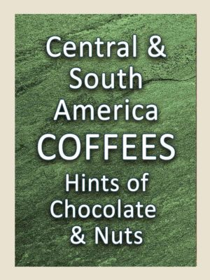 Central & South American Coffees