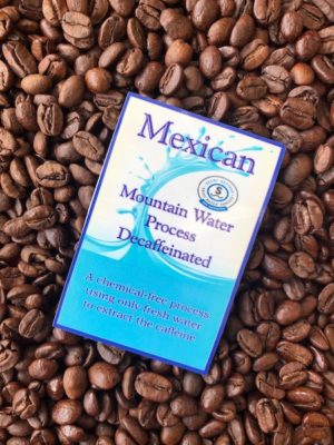 Mexican Chiapas Organic Decaf Coffee Beans