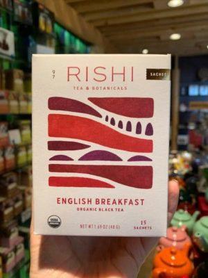 Rishi English Breakfast Black Tea Bags