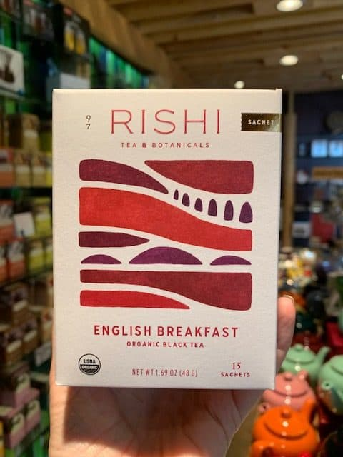 Rishi English Breakfast Black Tea Bags