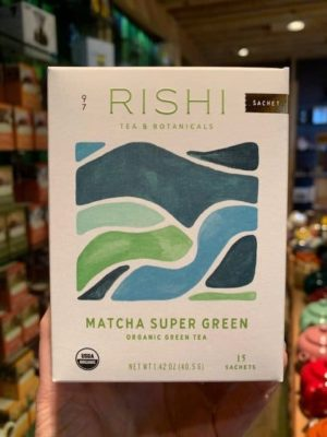 Rishi Matcha Super Green Tea Bags