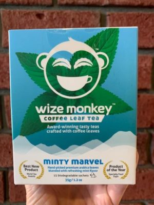 Wize Coffee Leaf Tea Minty Marvel