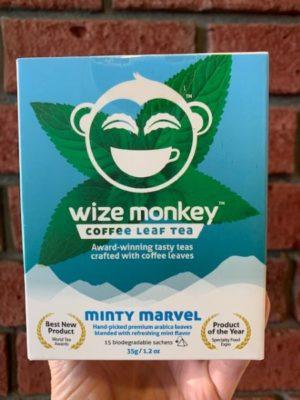 Wize Coffee Leaf Tea Minty Marvel