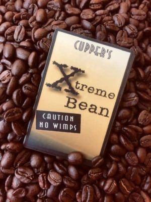 extra dark strong coffee beans