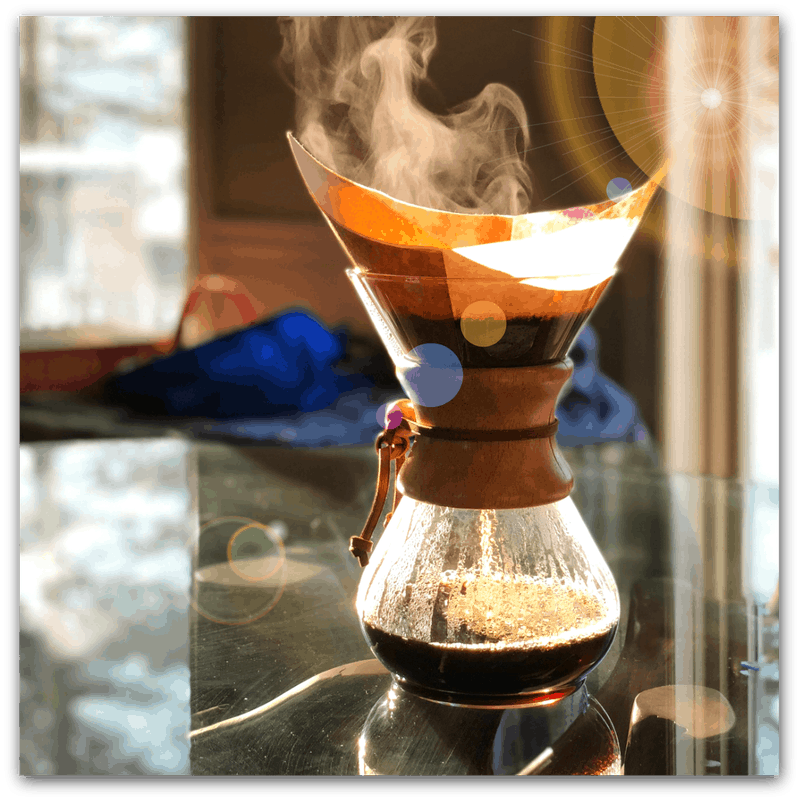 The Chemex Pour Over