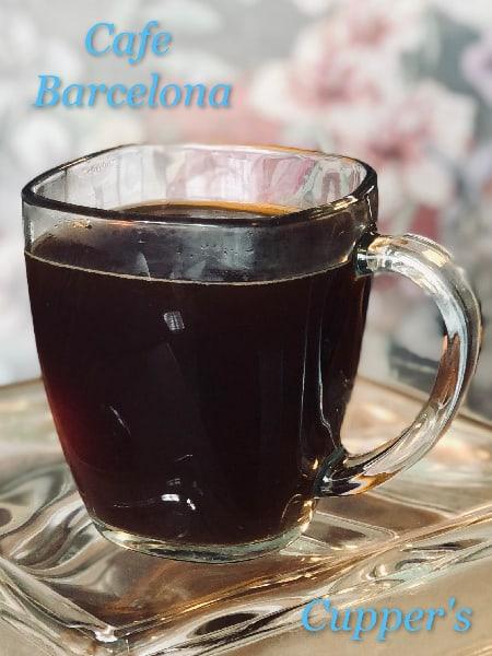 cafe barcelona coffee blend brewed
