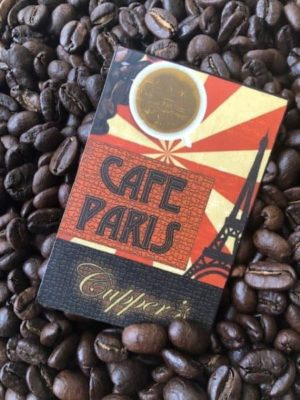 dark roast cafe paris blend coffee