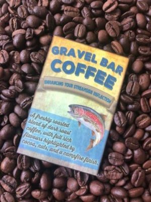 gravel bar camping coffee beans