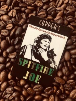spitfire joe dark blend coffee beans