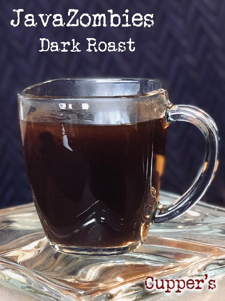 dark roast java coffee blend brewed