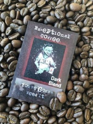 dark roast java coffee blend beans