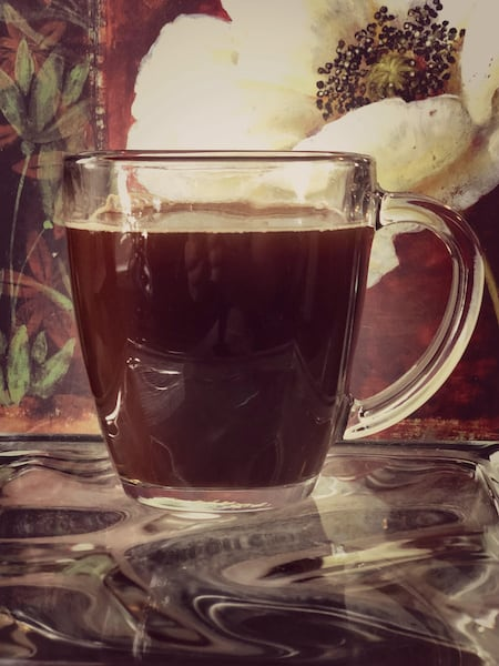 decaf mexican coffee cup