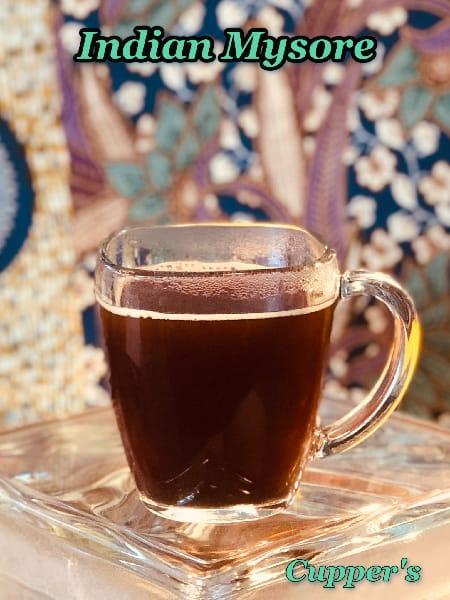 india low acid coffee beans brewed