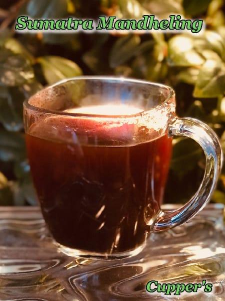 sumatra arabica coffee beans brewed