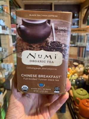Numi Chinese Breakfast Black Tea Bags
