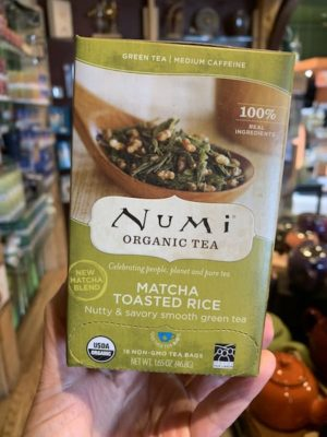 Numi Matcha Toasted Rice Tea, Bags