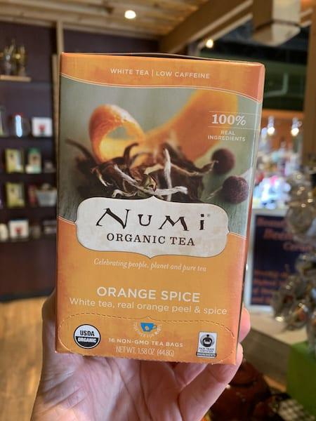 Numi Orange Spice White Tea, Bags