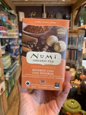 Numi Rooibos Chai Herbal Tea, Bags