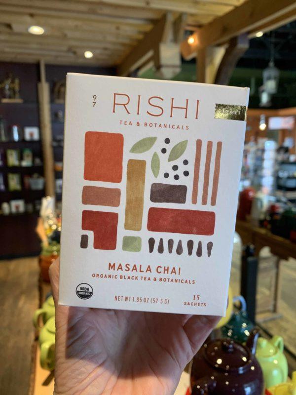 Rishi Masala Chai Black Tea, Bags