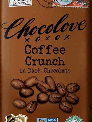Chocolove Coffee Crunch in Dark Chocolate