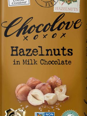 Chocolove Hazelnuts in Milk Chocolate