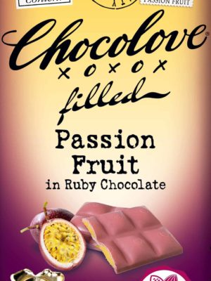 Chocolove Passion Fruit in Ruby Chocolate