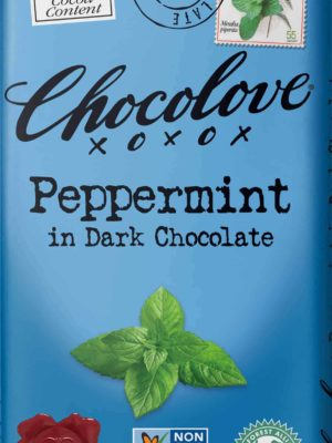 Chocolove Peppermint in Dark Chocolate