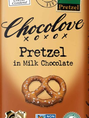 Chocolove Pretzel in Milk Chocolate