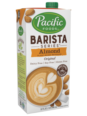 Pacific Barista Almond Milk alternate dairy free carton