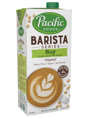 Pacific Barista Soy Milk alternate dairy free carton