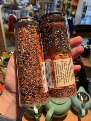 Rishi Mulled Market Spice Loose Tea Tube