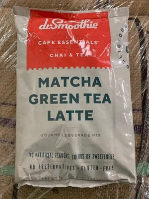 Dr. Smoothie Green Tea Matcha Latte Powder Bulk