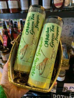 Matcha Green Tea Latte Frappe Powder Tube