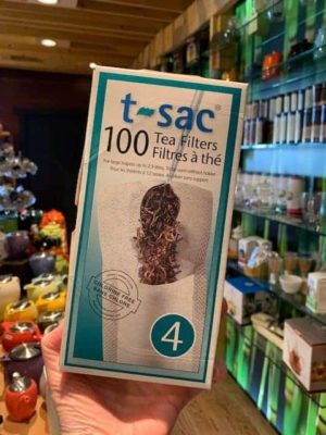 t-sac tea bag filters 4 cup