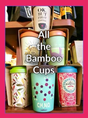 Chic Mic Bamboo Cups
