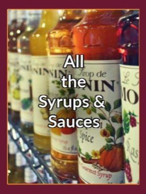 Monin Syrups & Sauces