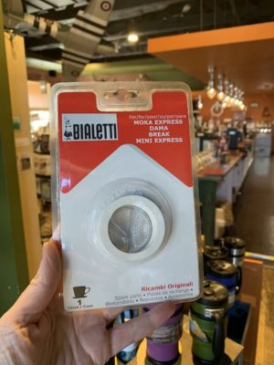 Bialetti Gasket & Filter, 1 Cup