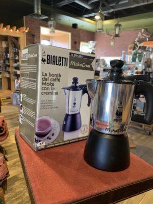 Bialetti Moka Crem Stovetop Espresso Maker, 3 Cup