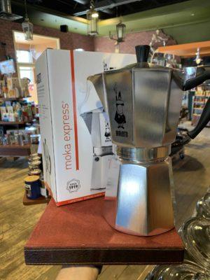 Bialetti Moka Express Stovetop Espresso Maker, 12 Cup