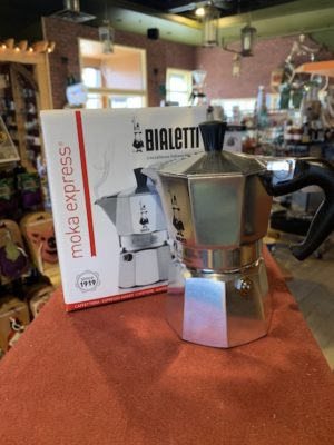 Bialetti Moka Express Stovetop Espresso Maker, 3 Cup