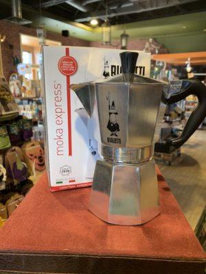 Bialetti Moka Express Stovetop Espresso Maker, 6 Cup