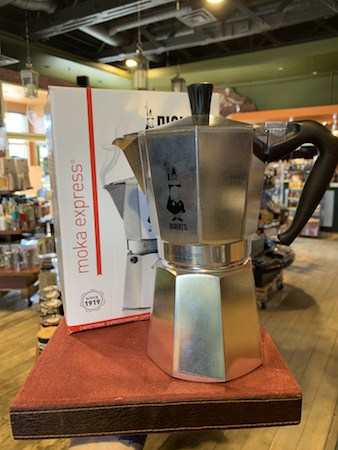 Bialetti Moka Express Stovetop Espresso Maker, 9 Cup