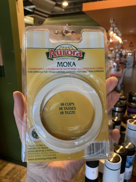 Bialetti Moka Stovetop Espresso Gaskets, 18 Cup