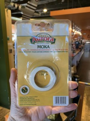 Bialetti Moka Stovetop Espresso Gaskets, 1 Cup