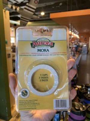 Bialetti Moka Stovetop Espresso Gaskets, 3 Cup