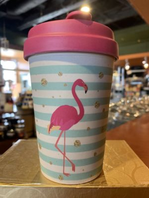Chic Mic Bamboo Travel Cup - Flamingo