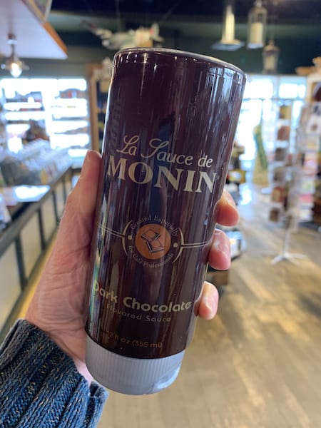 Monin Dark Chocolate Sauce 12 oz