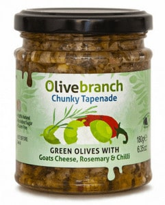 Olive Branch Goat Cheese Tapenade