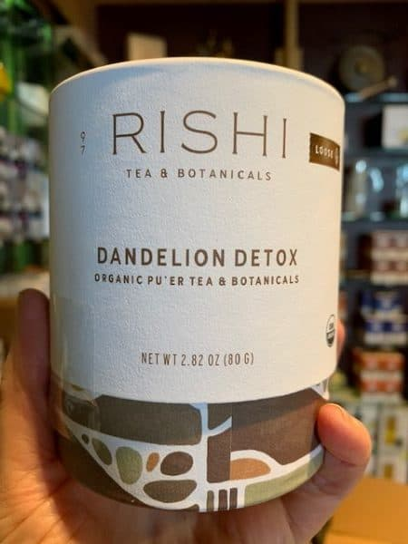 Rishi Dandelion Detox Pu-erh Loose Tea