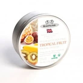 simpkind tropical fruit travel sweets tin